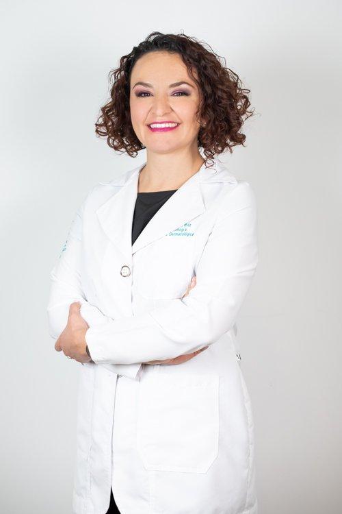 Dermatóloga Andrea Biviana Ruiz Leal