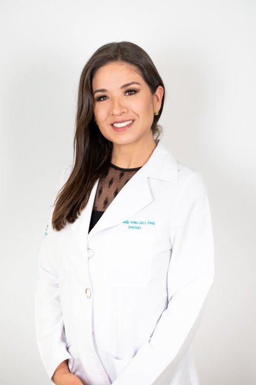 Dermatóloga Claudia Verónica García Ornelas