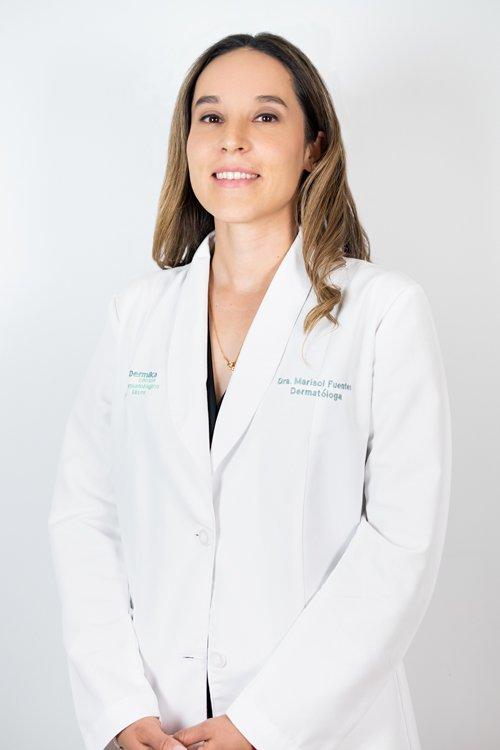 Dermatóloga Marisol Fuentes de Robles